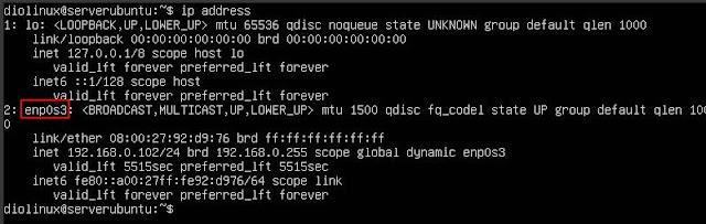 Configuração de rede no Ubuntu Server