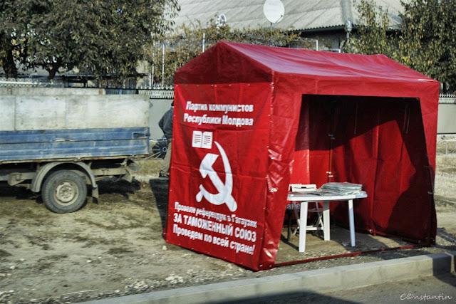 gagauzia - Partidul Comunist se afla în plină campanie eșectorală - blog FOTO-IDEEA