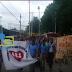 Hato del Yaque Centro Fe y Alegria Marcha contra la Violencia de Genero.