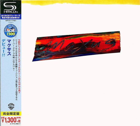 MAXUS - Maxus [Japan SHM-CD remastered] (2016) full