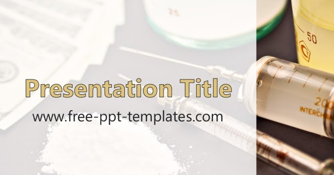 Drugs ppt template toneelgroepblik Images