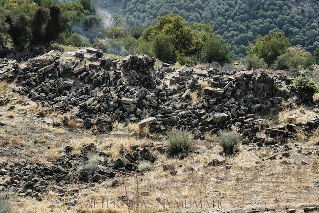 Ruinas de la escena