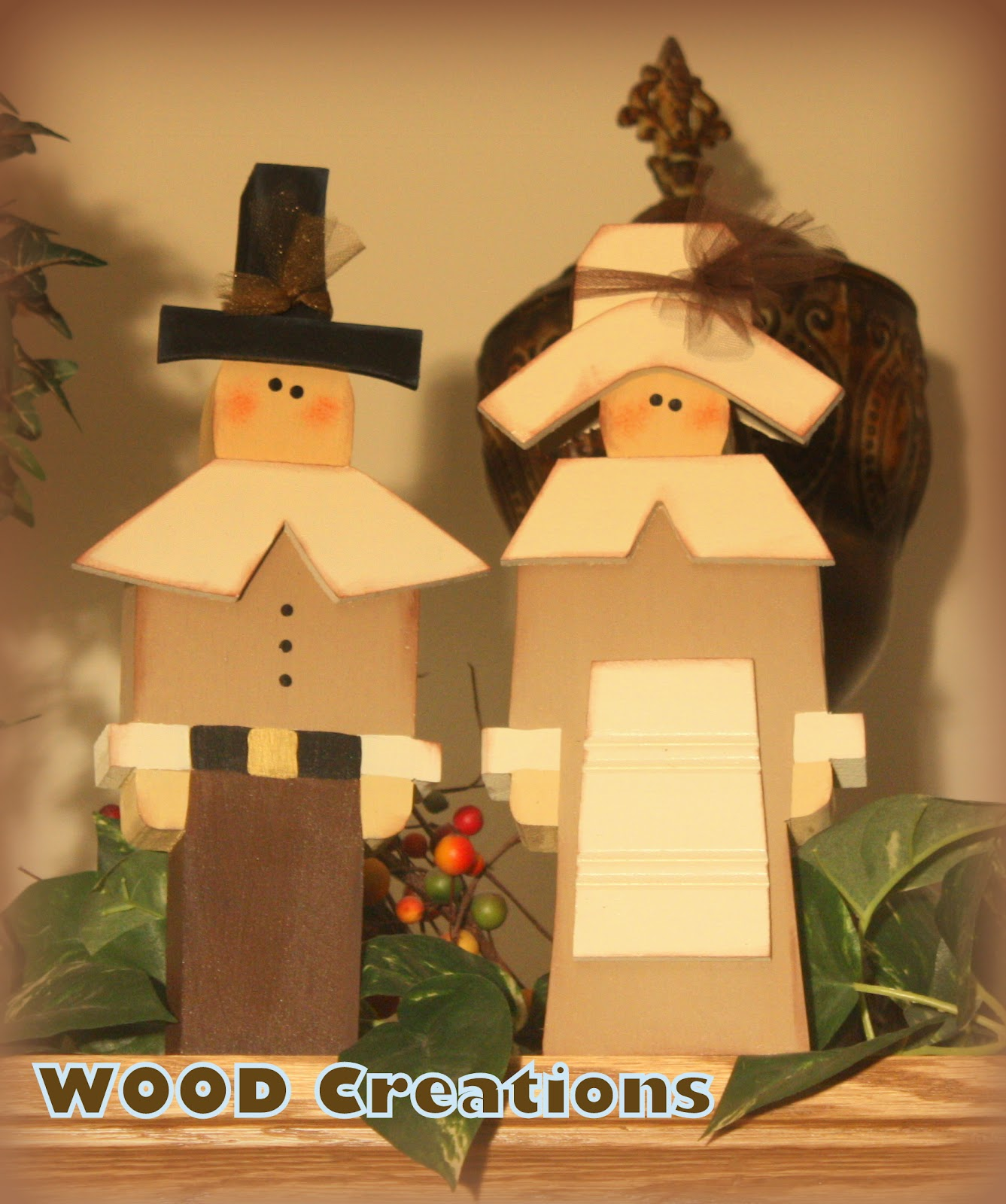 Wood Creations Thanksgiving Crafts Are Here