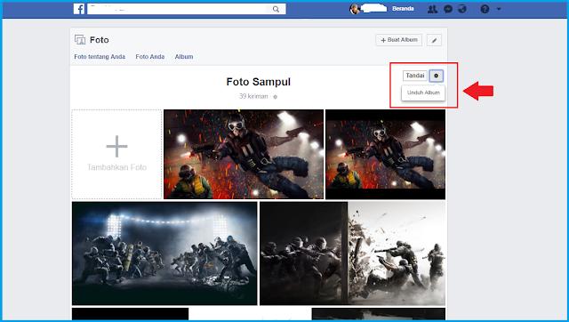 Cara Download Semua Foto di Album Facebook Tutorial Download Semua Foto di Album Facebook