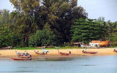 Andaman Sea under the Sarasin Bridge