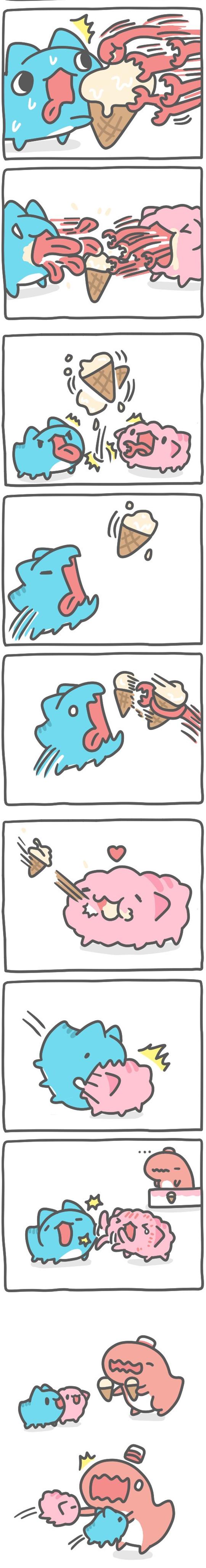 Truyện Mìn Lèo #432: Ăn kem