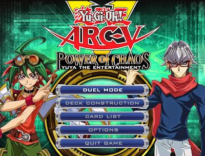 Download Yu-Gi-0h! Power of Chaos ARC-V Gratis