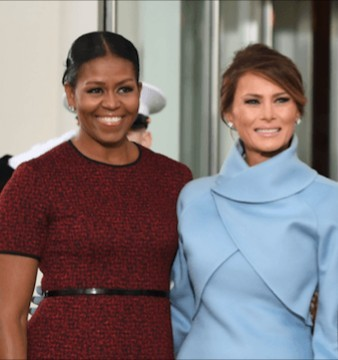 Michelle Obama reveals that Melania Trump turned down her offer for help and White House releases statement saying Melania doesn't need Michelle's help