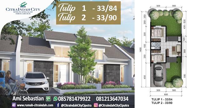 Tulip 1, 33/84 dan Tulip 2, 33/90 Citra Indah City