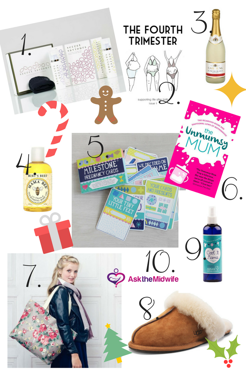 Christmas Gift Guide for Mama to Be's