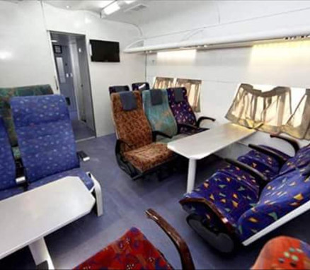 Indian Railway - Better Seats in Chair Cars Compartments