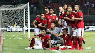 Susunan Pemain Timnas Indonesia vs Mongolia 4 Desember 2017