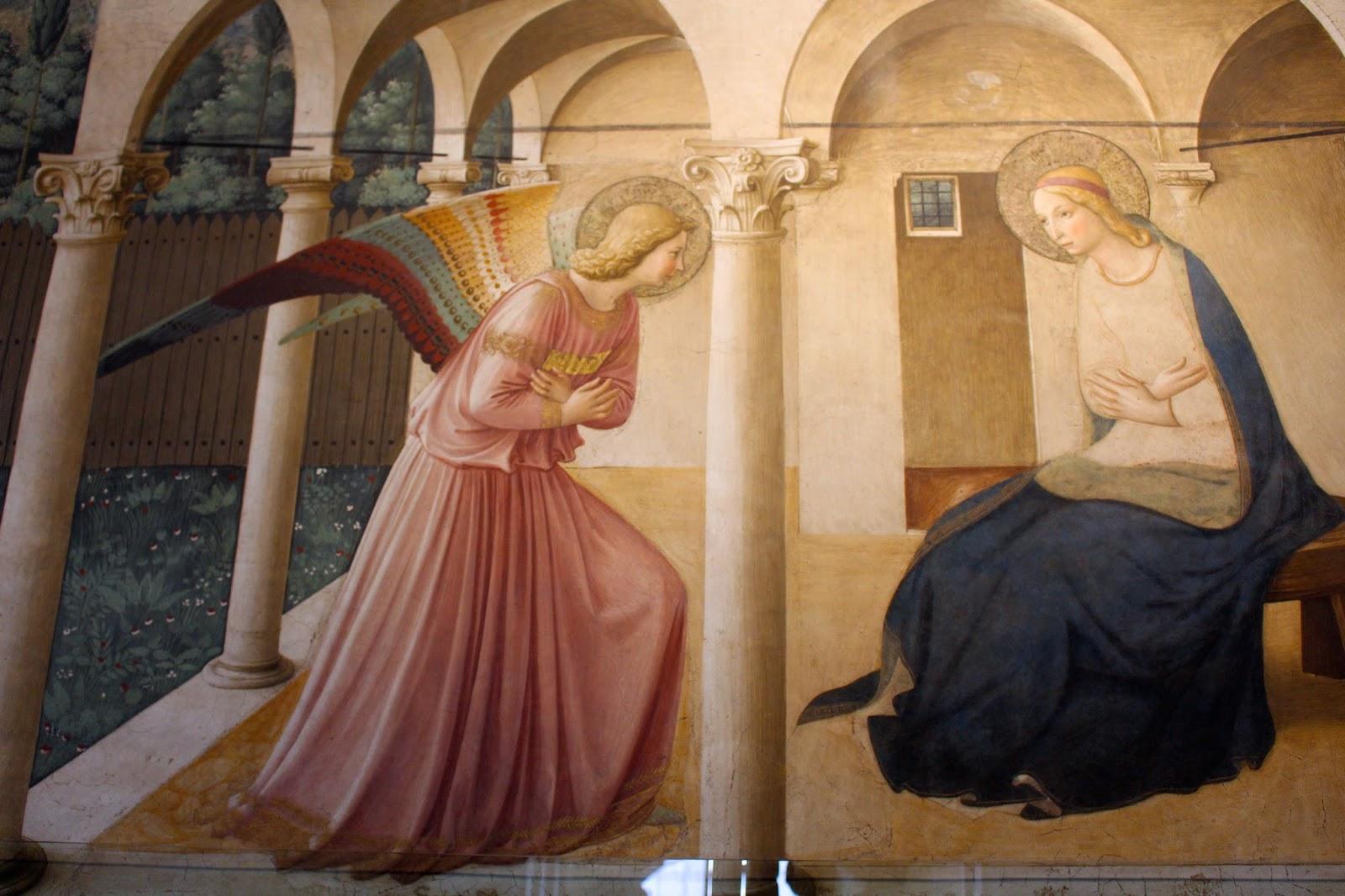 Annunciazione Beato Angelico, San Marco