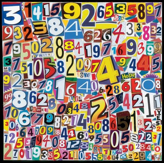 Faire un collage pour souligner Journée du nombre PI (π)