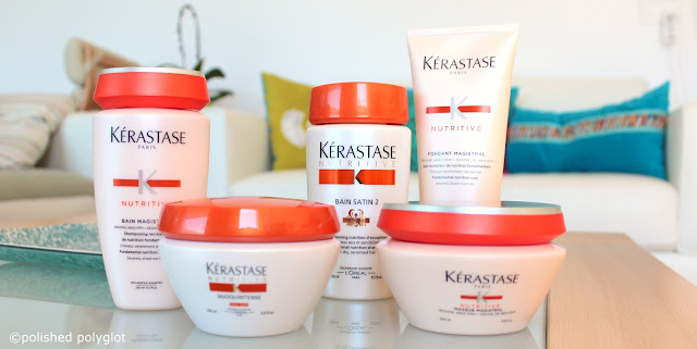 Hair │ Kérastase Nutritive Range for Dry Hair
