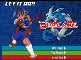 Beyblade let it rip