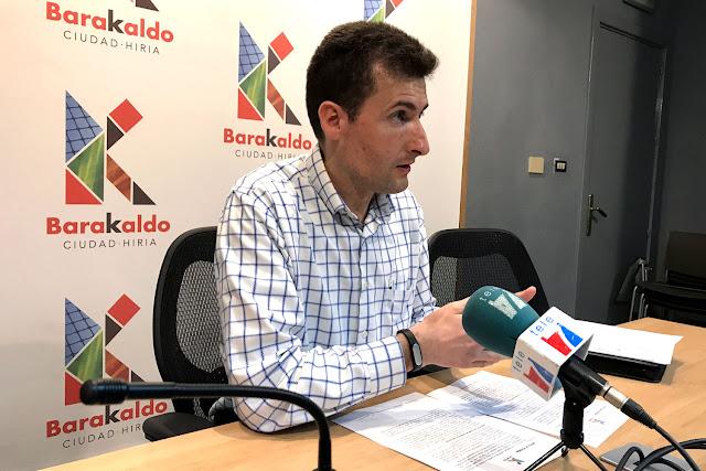 El concejal de Alcaldía, Gorka Zubiaurre (PNV)