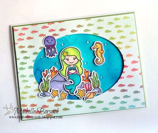 Sunny Studio Stamps: Sunny Saturday Customer Card Share by Michelle Borsack