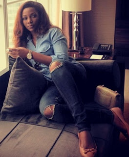 genevieve nnaji in china