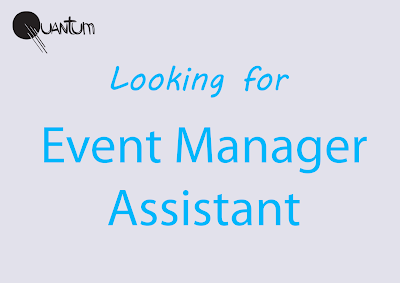 Event Manager Assistant в компанию Quantum