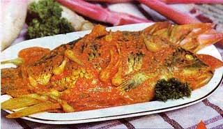 Arsik Ikan Mas Medan