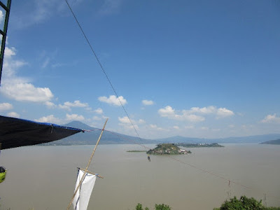 Zipe Line on Lake Patzcuaro