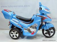 3 Motor Mainan Aki Merino 818 Police Escort