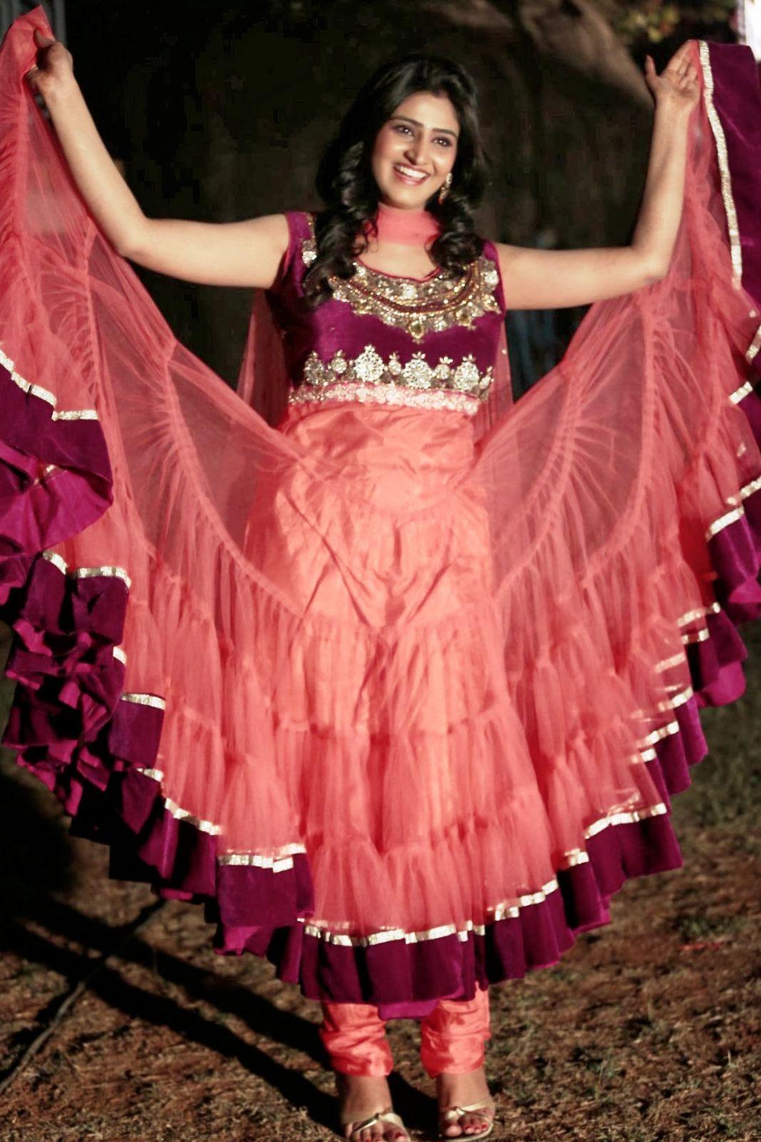 Actress Shamili Hot Photos In Red Dress