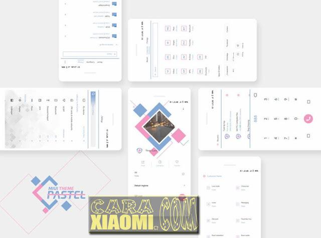 Download Tema Xiaomi MIUI Pastel Material Themes