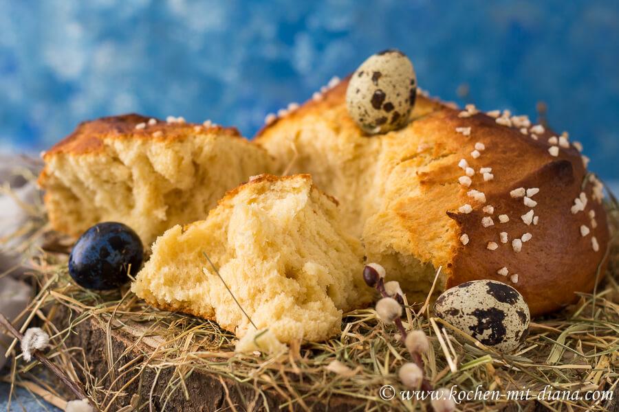 fluffige Osterpinze