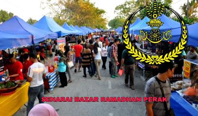 Senarai Bazar Ramadhan Perak 2019 (Lokasi)