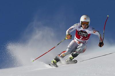 Miklós Edit, Stefan Abplanalp, téli sportok, alpesi sí,
