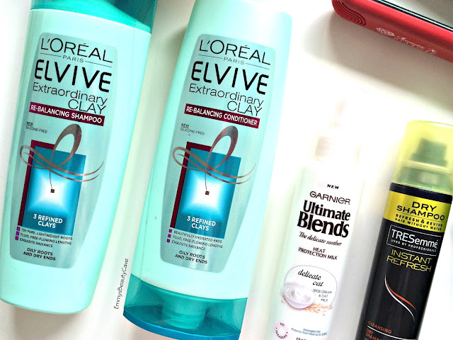 L'Oreal Elvive Extraordinary Clay Shampoo and Conditioner
