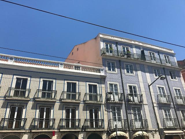 Lisbon Tiled Buildings
