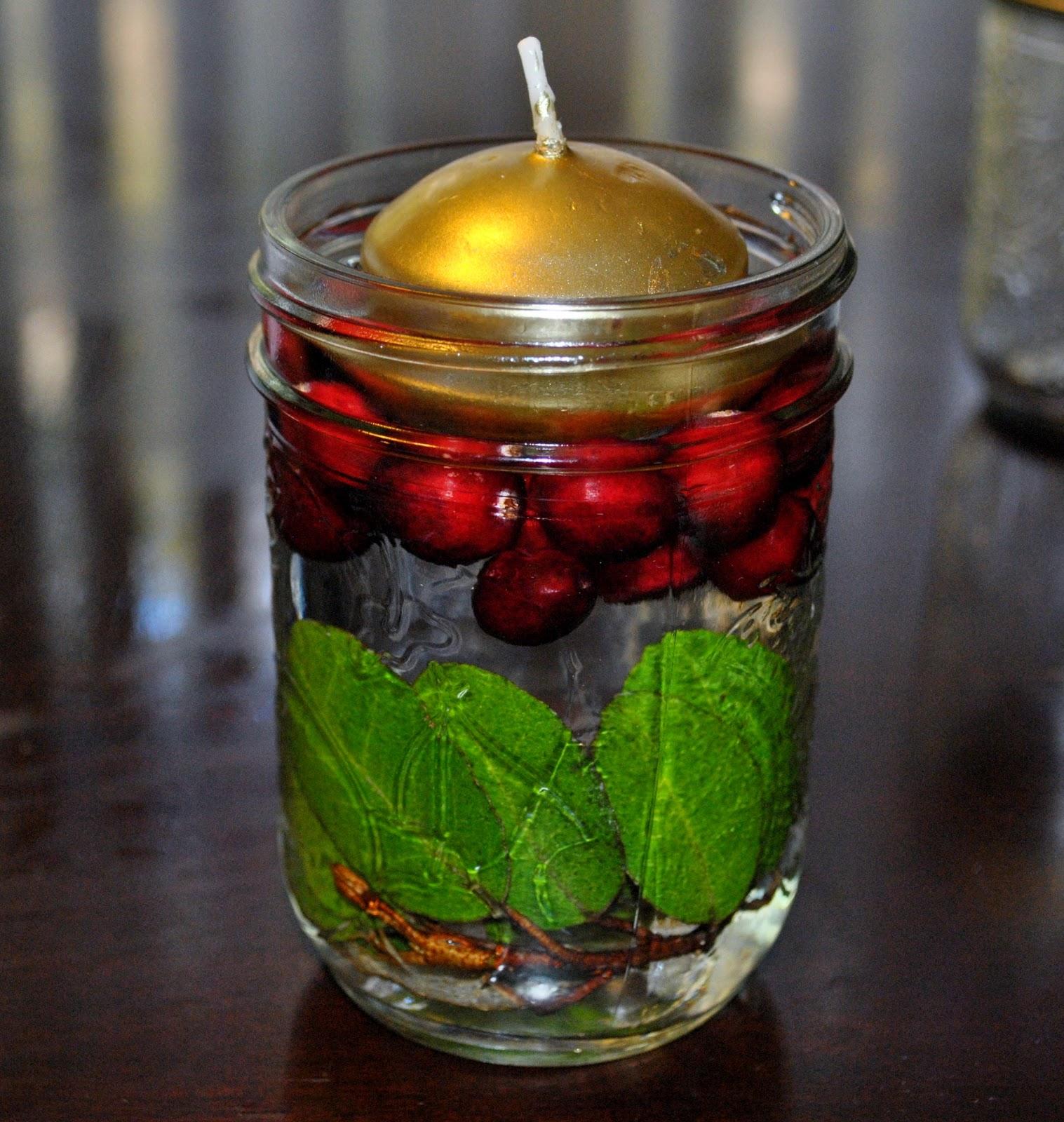 Life With 4 Boys: DIY Home Decor - Fall Mason Jar Candle
