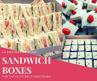 Jom Order Sandwich Delivery dari Ashrin Food