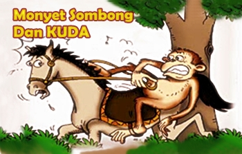 Dongeng Fabel Monyet Sombong Dan Kuda Cerita Anak Dongeng
