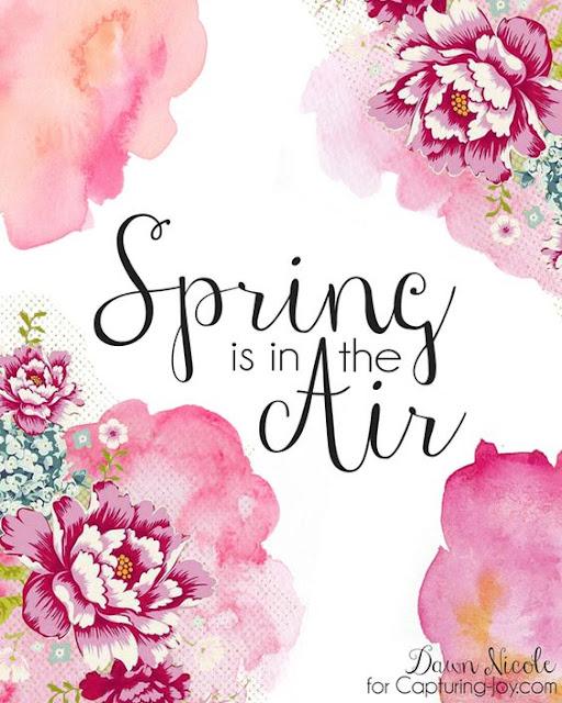 Hello Monday * pierwszy dzień wiosny