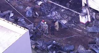 Incêndio no CT Ninho do Urubu