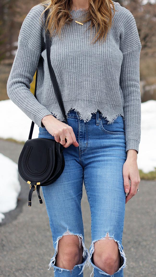 Affordable Scoop Back Sweater #affordablefashion