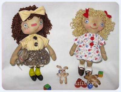 Куклы чердачные,  своими  руками, кофейные
