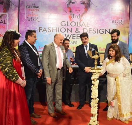 Asian News Agency Fashion Took Birth At 3rd Global Fashion And Design Week