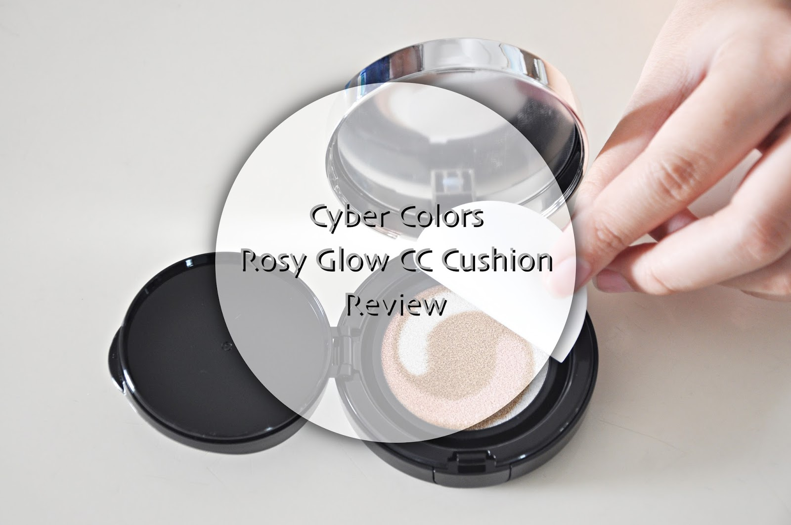 sara wanderlust review cyber colors rosy glow cc cushion