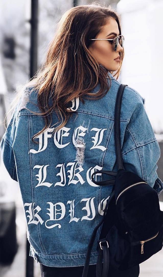cool denim jacket