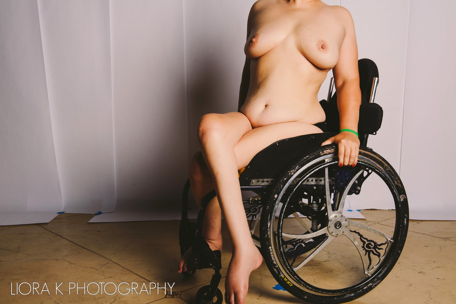 girl in wheelchair naked