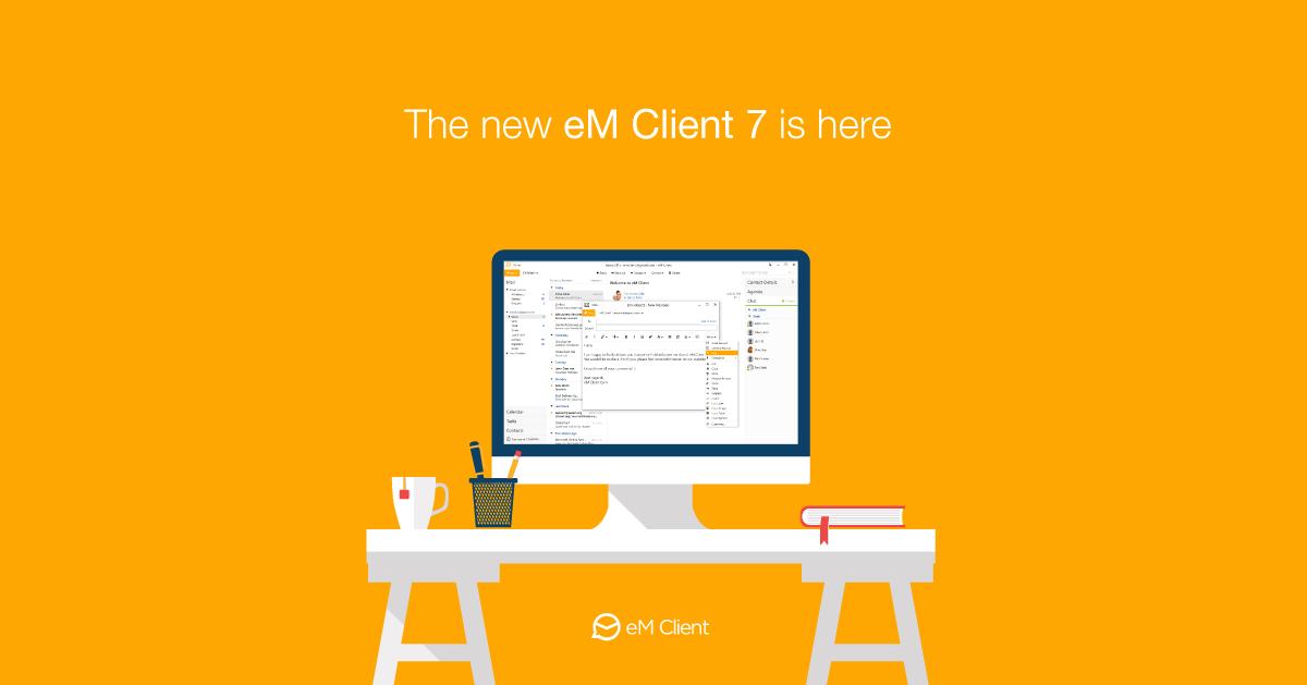 Download eM Client Latest Full Crack