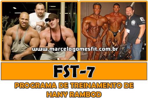 FST-7 - Programa de treinamento de Hany Rambod