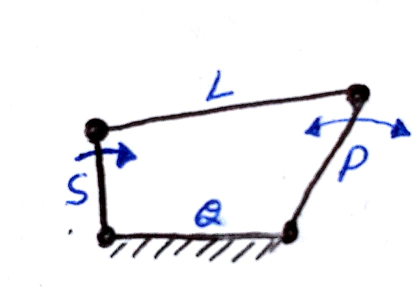 Lecture - 10 ( four bar mechanism and grashof's law)