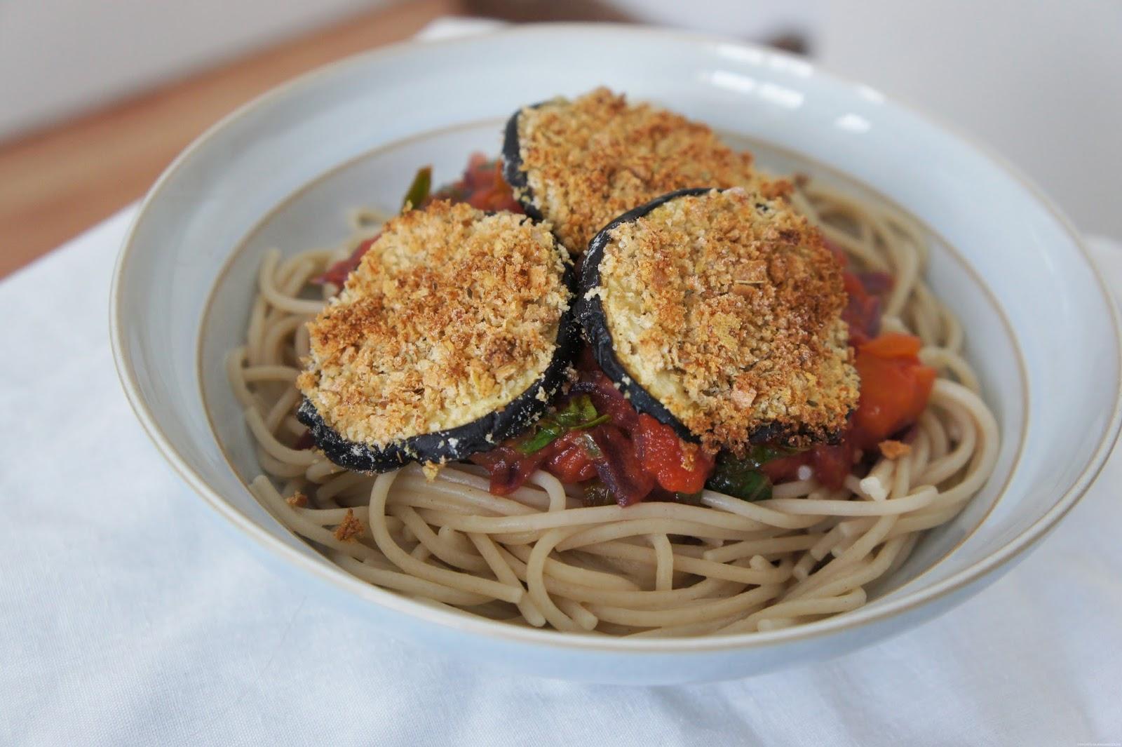 eggplant aubergine parmesan vegan gluten free