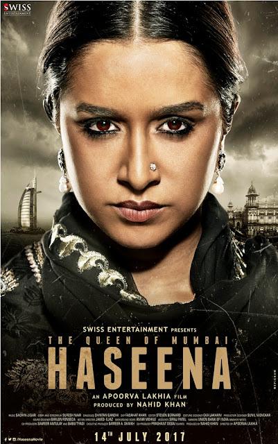 Haseena, movie poster, shraddha kapoor